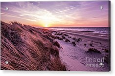Beach Of Renesse Acrylic Print by Daniel Heine