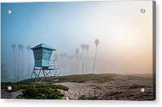 Acrylic Print featuring the photograph Beach Office by Sean Foster
