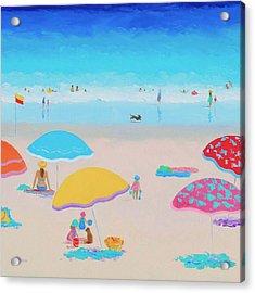 Beach Painting - Ah Summer Days Acrylic Print