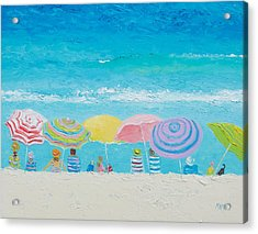 Beach Painting - Color Of Summer Acrylic Print by Jan Matson