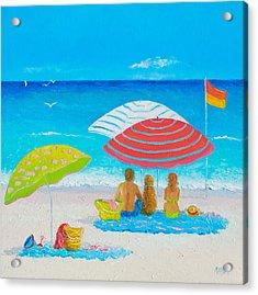 Beach Painting - Endless Summer Days Acrylic Print
