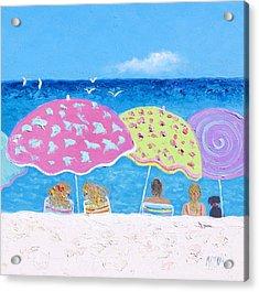 Beach Painting - Lazy Summer Days Acrylic Print