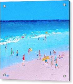 Beach Painting - Summer Holiday Acrylic Print