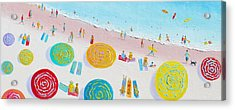 Beach Painting - The Simple Life Acrylic Print by Jan Matson