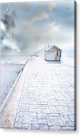 Beach Pier Acrylic Print