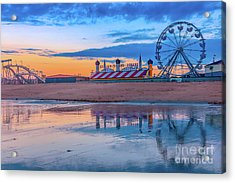 Beach Reflections Acrylic Print