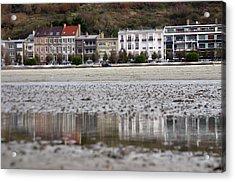 Beach Reflections Acrylic Print by Jez C Self