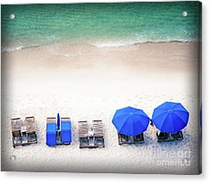 Beach Relax Acrylic Print