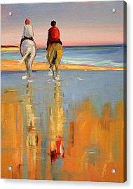 Beach Riders Acrylic Print