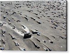 Acrylic Print featuring the photograph Beach Rocks 2 by Joanne Coyle