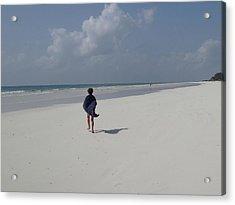 Beach Run Acrylic Print