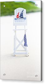 Beach Safety Acrylic Print by Jorgo Photography - Wall Art Gallery