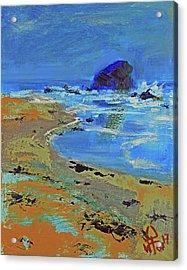 Beach Solitude Acrylic Print
