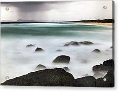 Beach Squall Acrylic Print