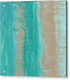 Beach Stripes  Acrylic Print