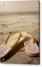 Beach Therapy Acrylic Print by JAMART Photography