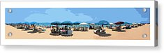 Beach Time Acrylic Print