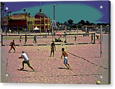 Beach Volleyball Acrylic Print