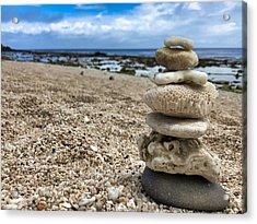 Beach Zen Acrylic Print