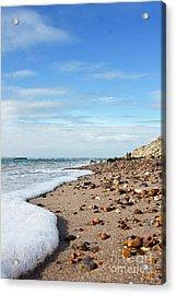 Beachcombing Acrylic Print