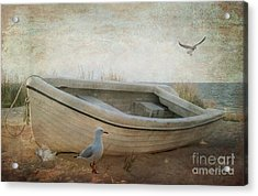 Beached Acrylic Print by Chris Armytage