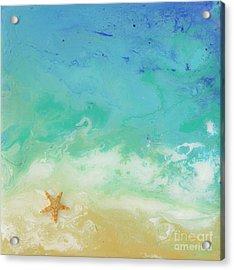 Beached Starfish Acrylic Print