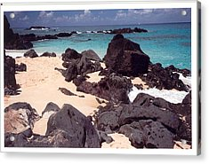 Acrylic Print featuring the photograph Beaches Of Hawaii by Lori Mellen-Pagliaro