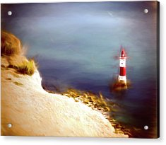 Beachy Head Lighthouse Acrylic Print by Sharon Lisa Clarke