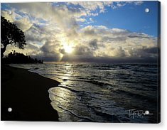 Beachy Morning Acrylic Print
