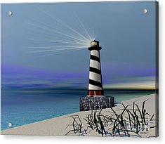 Beacon Acrylic Print by Corey Ford