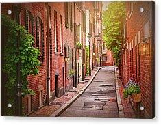 Beacon Hill Boston Acrylic Print