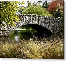 Beacon Hill Park Acrylic Print by Sonja Anderson