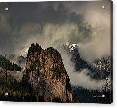 Beacon Rock Acrylic Print