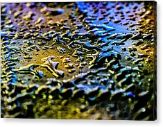 Beaded Water Texture Acrylic Print