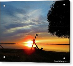 Beadles Point Sunset Acrylic Print
