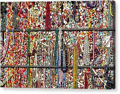 Beads In A Window Acrylic Print