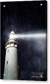 Beaming Lighthouse Acrylic Print