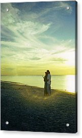 Beaming Love Acrylic Print by Jean Haynes