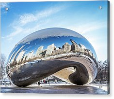 Bean Reflections Acrylic Print