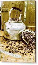Bean Shop Cafe Acrylic Print