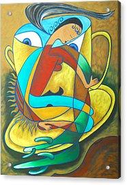 Bean Spirit Acrylic Print by Marta Giraldo