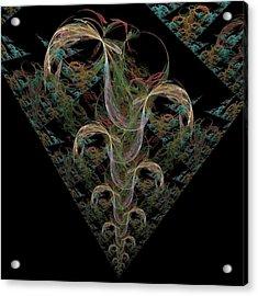 Bean Stalk Acrylic Print