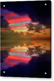 Beaneath The Dark Clouds Acrylic Print