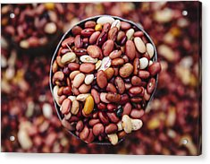 Beans For Sale In The Old City Of Harar Acrylic Print