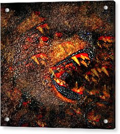 Night Attack Acrylic Print by David Lee Thompson