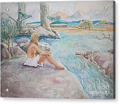 Bear Creek Acrylic Print by Catherine Moore