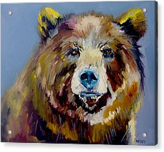 Bear Exposed Acrylic Print