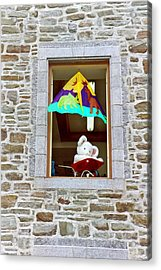 Acrylic Print featuring the photograph Bear Formally Known As Teddy by John Schneider