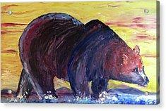 Bear Hot Summer  Acrylic Print