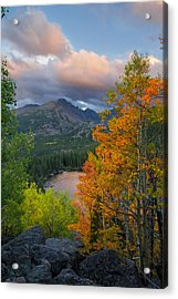 Bear Lake Autumn Acrylic Print